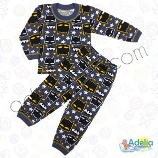 Пижама для мальчика Бэтмен (тонкая)