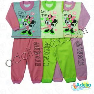 """Пижама  с накатом """" Minnie Mouse """""""