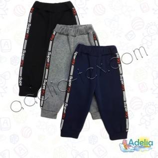 Тёплые штаны для мальчика ( 3х нитка)